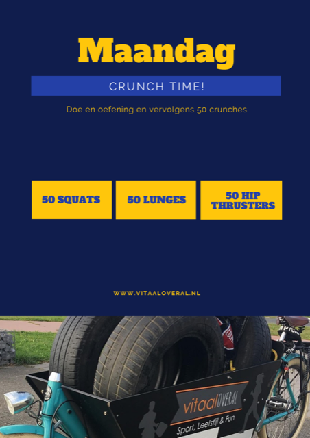 Crunch time - personal training Biddinghuizen