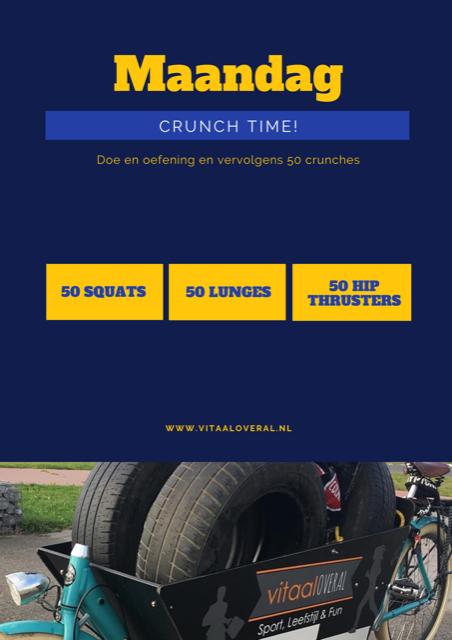 Crunch time - personal training Biddinghuizen