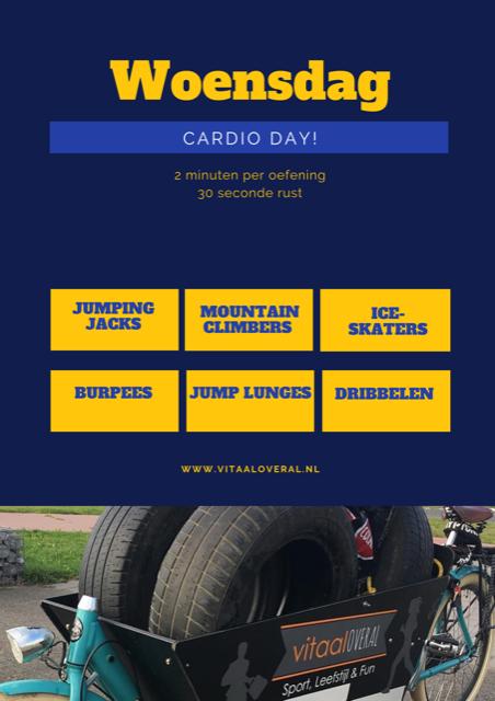 Personal trainer Biddinghuizen - Cardio training